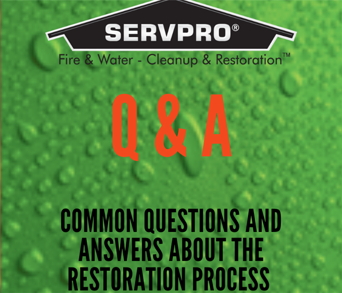 Q & A; Common questions and answers about the restoration process